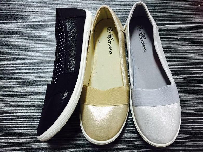 Dámská plátěná obuv  (36-41)