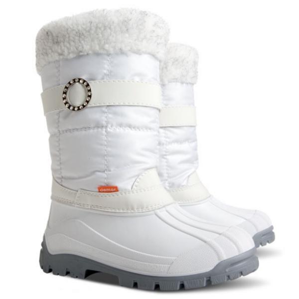 Zimní sněhule DEMAR (35-42) bílé
