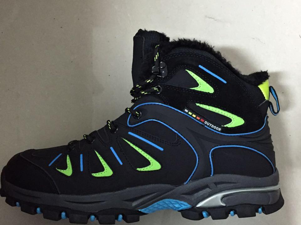 Pánská zimní outdoorová obuv LISTAR (41-46) modrá/zelená