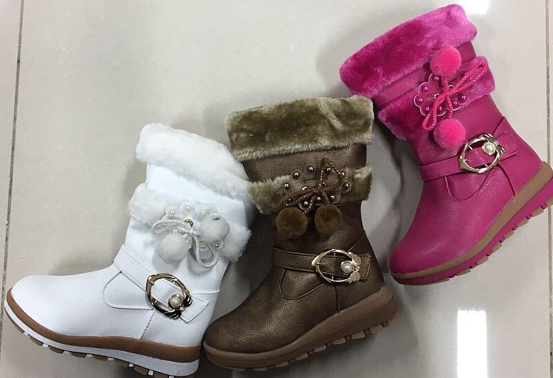 Dívčí zimní obuv / kozačky (27-32)