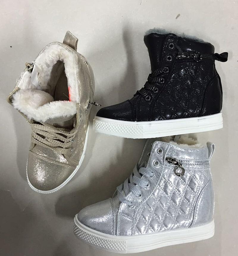 db5fb809767 Dívčí zimní kotníčková obuv (30-35)