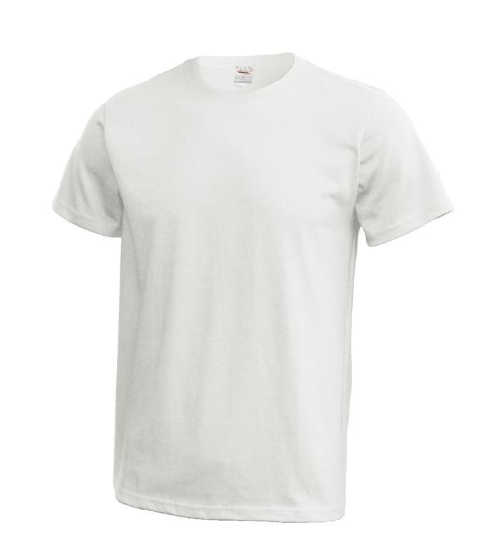 Triko unisex krátký rukáv (XS-XXL) bílé