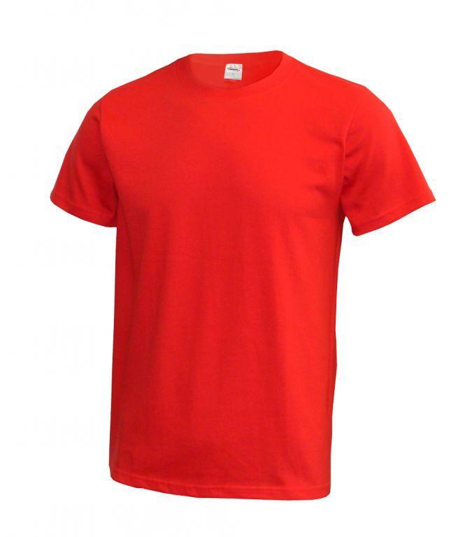 Triko unisex krátký rukáv (XS-XXL) červené