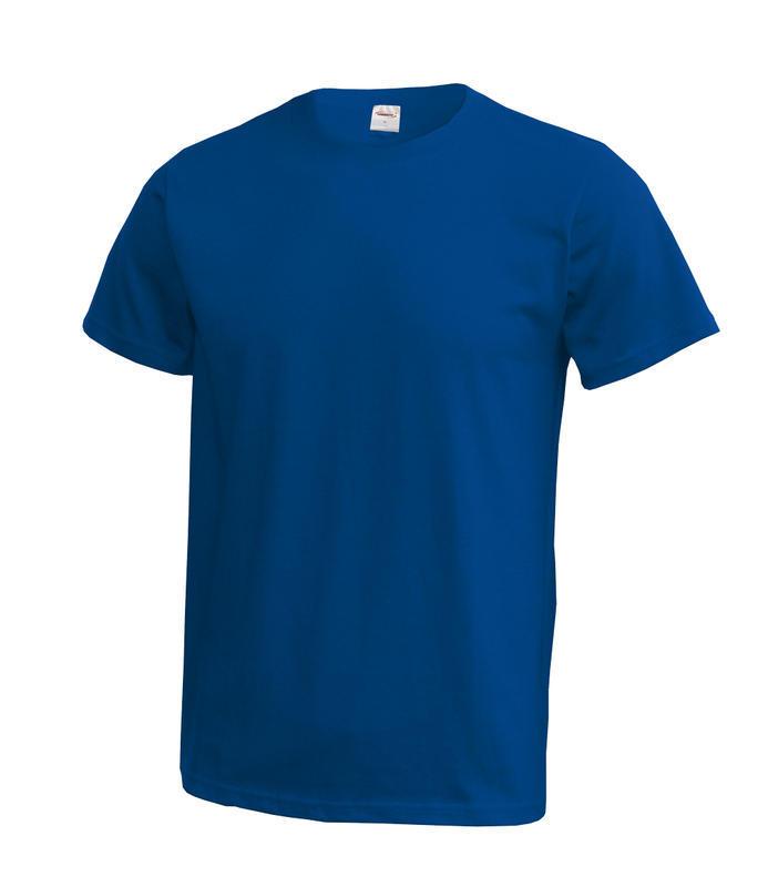 Triko unisex krátký rukáv vel. XXXL - modré