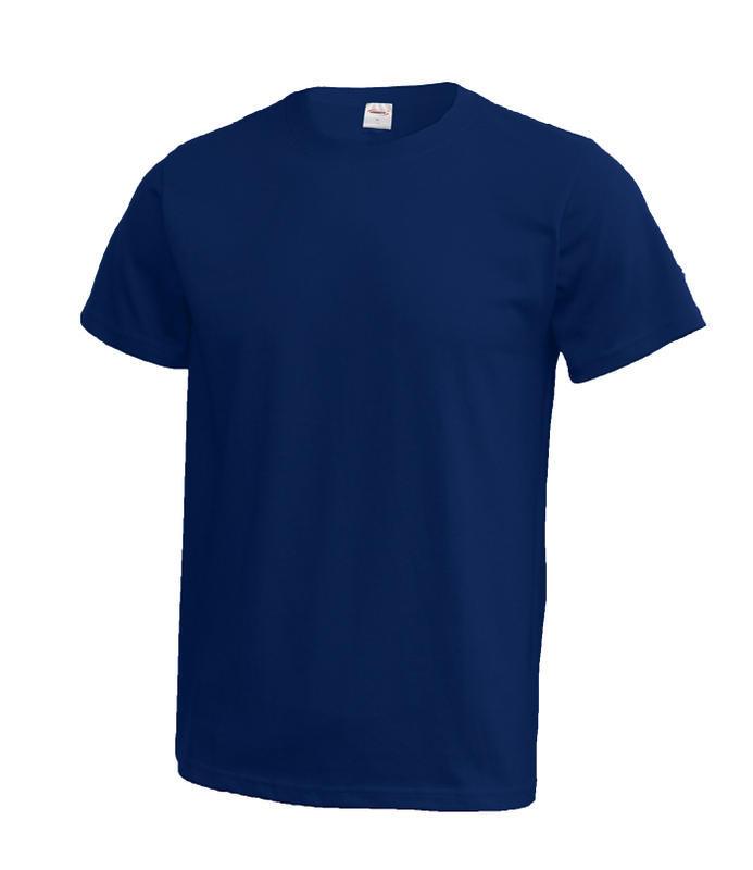 Triko unisex krátký rukáv vel. XXXL - tmavě modré