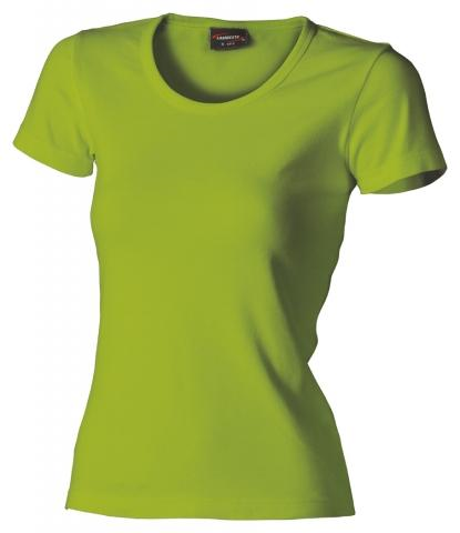 Dámské triko krátký rukáv U (S-XXL) světle zelené