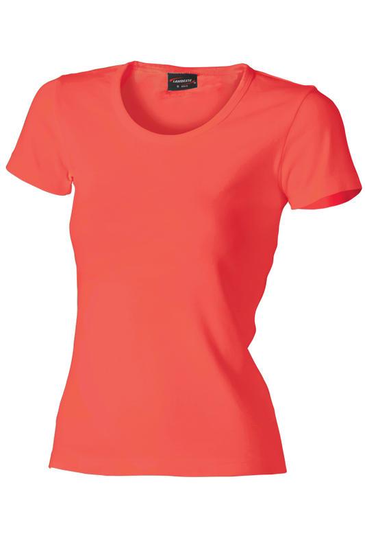 Dámské triko krátký rukáv U (S-XXL) cayenne