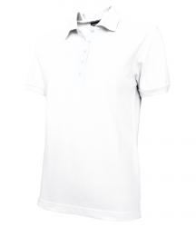 Dámská polokošile krátký rukáv (S-XXL) bílá