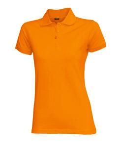 Dámská polokošile krátký rukáv (S-XXL) oranžová
