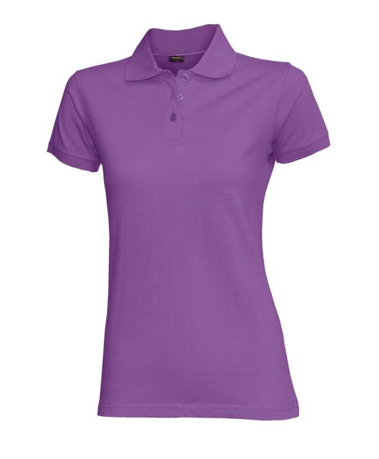 Dámská polokošile stretch krátký rukáv (S-XXL) fialová