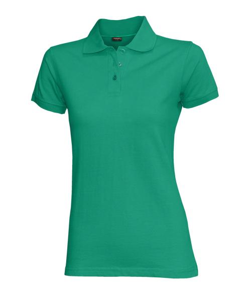 Dámská polokošile stretch krátký rukáv (S-XXL) zelená