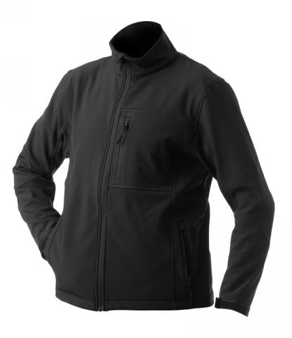 Pánská softshellová bunda (M-XXL) černá