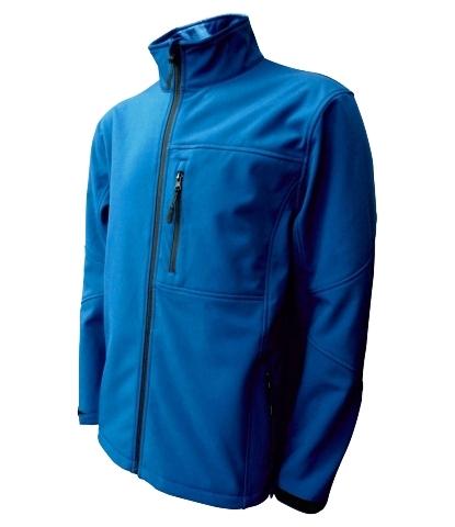 Pánská softshellová bunda (M-XXL) modrá