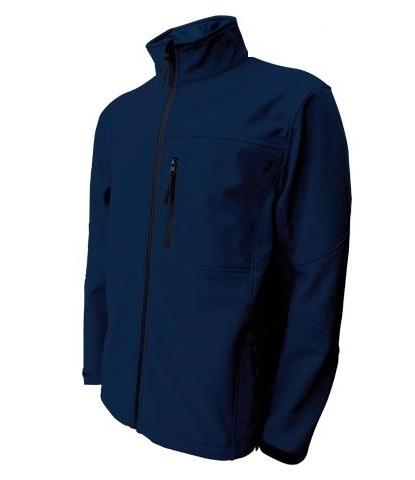 Pánská softshellová bunda (M-XXL) tmavě modrá
