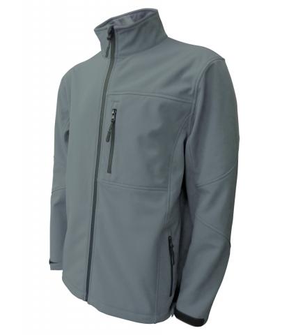 Pánská softshellová bunda (M-XXL) tmavě šedá