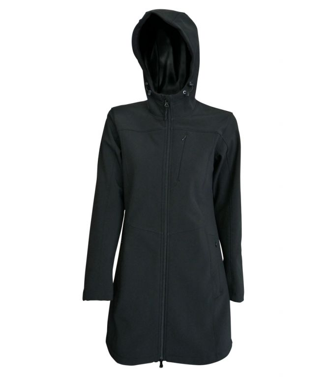 Dámská softshellová bunda/kabátek (S-M) černá