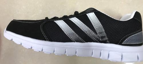 Pánská odlehčená sportovní obuv (41-46) černá/bílá