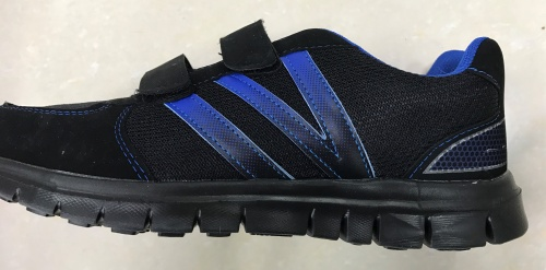 Pánská odlehčená sportovní obuv (41-46) černá/modrá