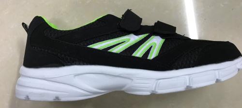 Pánská odlehčená sportovní obuv (41-46) černá/svít.zelená