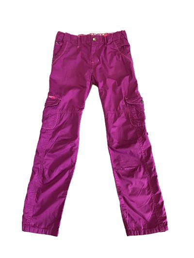 Dívčí plátěné kalhoty KUGO (134-164)