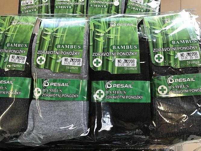 Pánské kotníčkové zdravotní bambus.ponožky PESAIL (40-47)