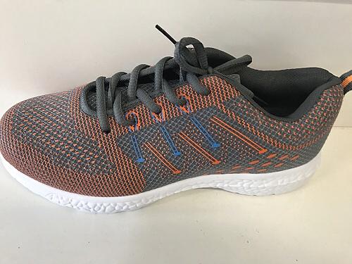 Pánská odlehčená sportovní obuv LINSHI (40-45) oranžovošedá