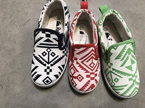 Dětská plátěná obuv REBIT (26-33)