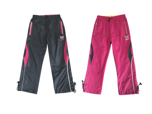 b8162b78036 Dětské šusťákové kalhoty KUGO (98-128)
