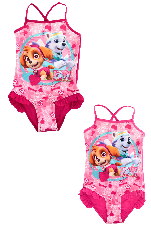 Dívčí plavky PAW (3-6 let)