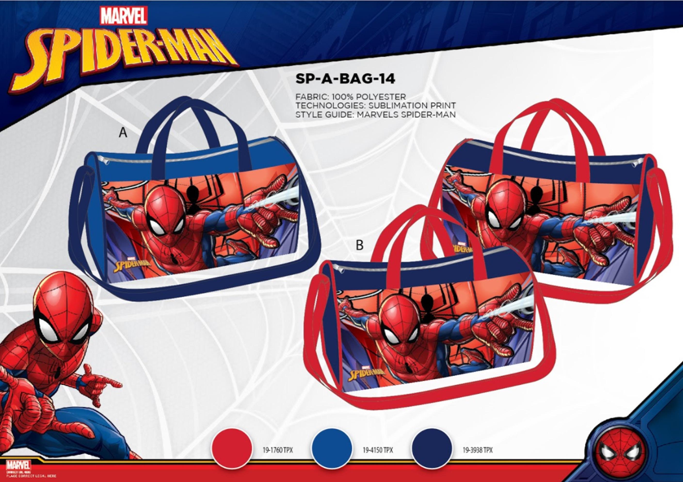Chlapecká sportovní taška SPIDER MAN (22*38*21CM)