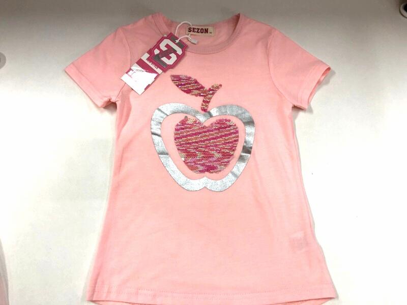Dívčí triko s flitry  SEZON (116-146)
