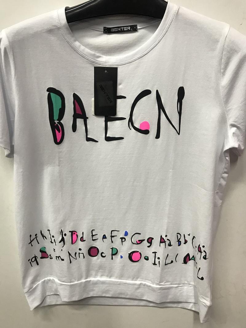 Dámské triko s krátkým rukávem  BENTER (M-XXL)