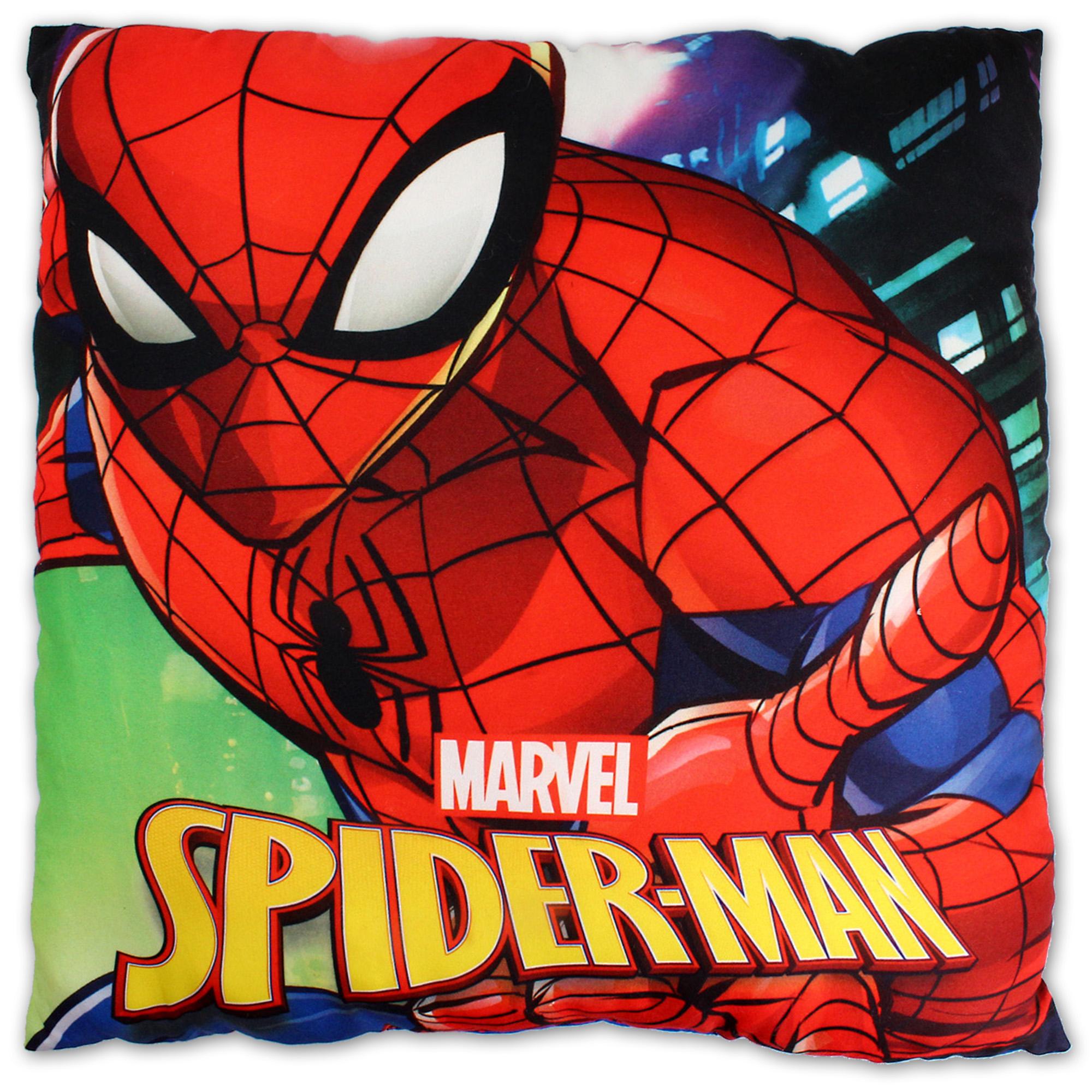 Plyšový licenční  polštář SPIDER MAN