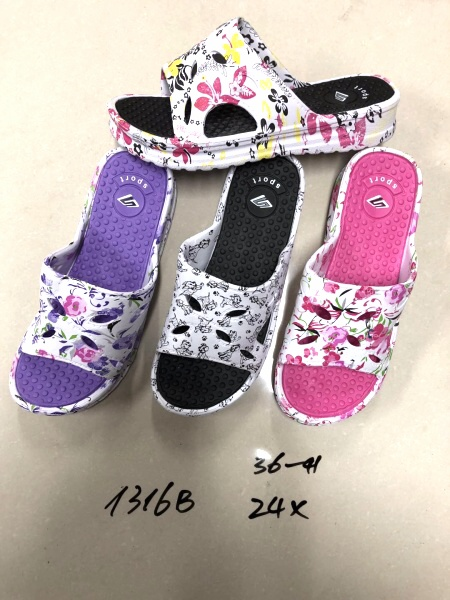 Dámské masážní gumové pantofle (36-41)