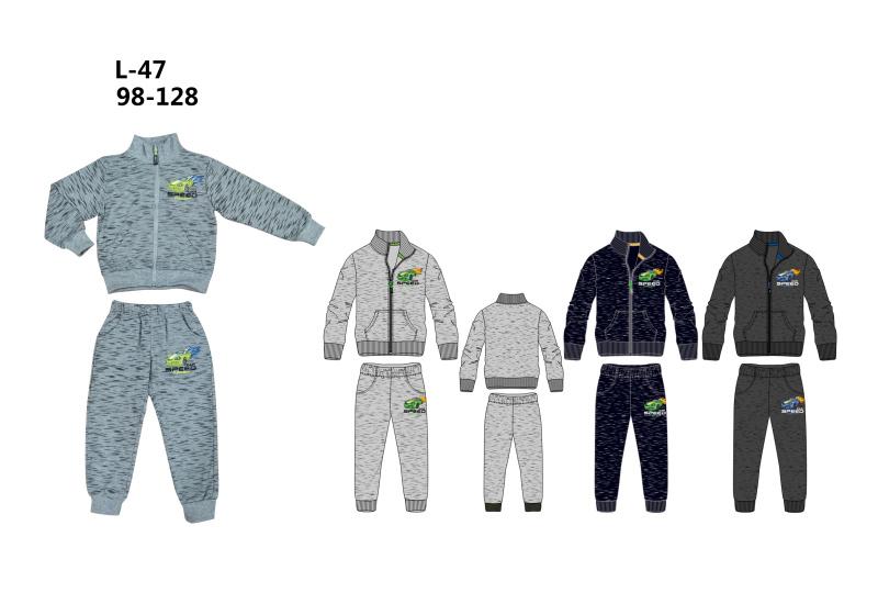 Chlapecká tepláková souprava  SEZON (98-128)