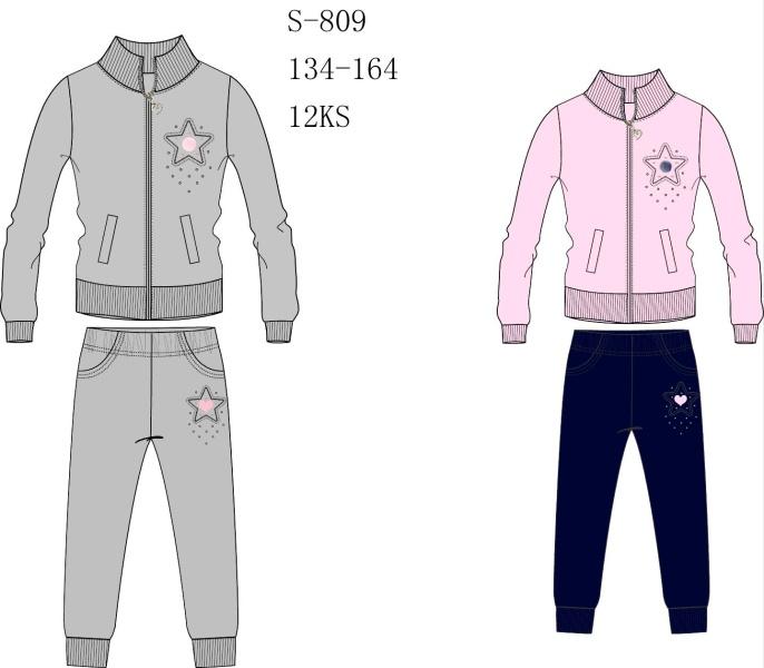 Dívčí tepláková souprava SEZON (134-164)
