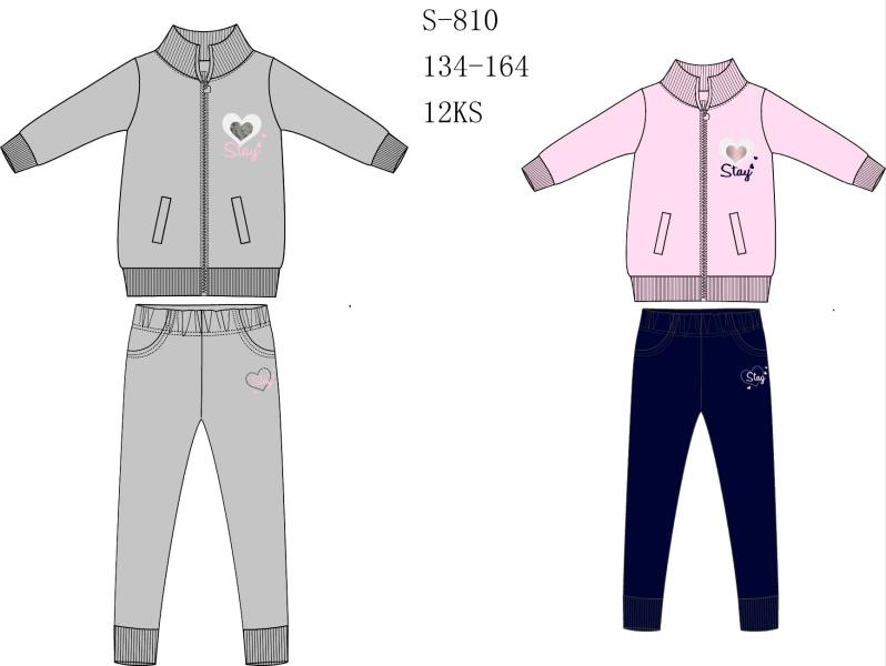 Dívčí tepláková souprava SEZON (116-146)