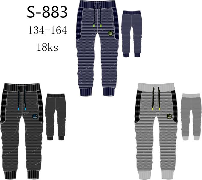 Chlapecké tepláky SEZON (134-164)