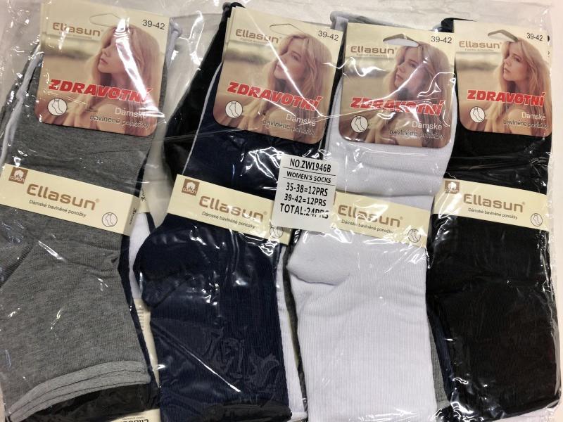Dámské zdravotní ponožky ELLASUN (35-42)
