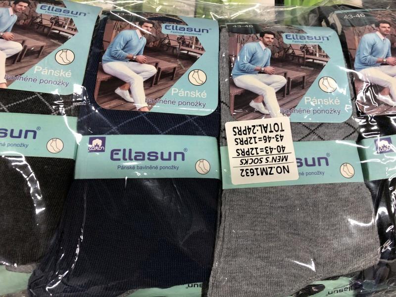 Pánské zdravotní ponožky ELLASUN (39-46)