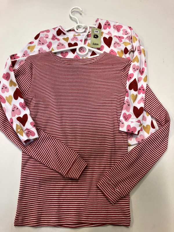 Dívčí triko s dlouhým rukávem DANTONY (110-158)