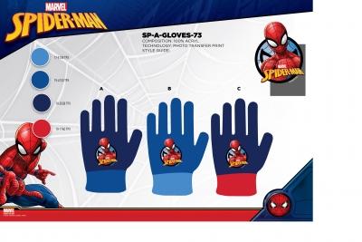Chlapecké prstové rukavice SPIDERMAN