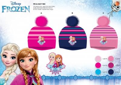 Dívčí zimní čepice FROZEN (vel. 52-54cm)