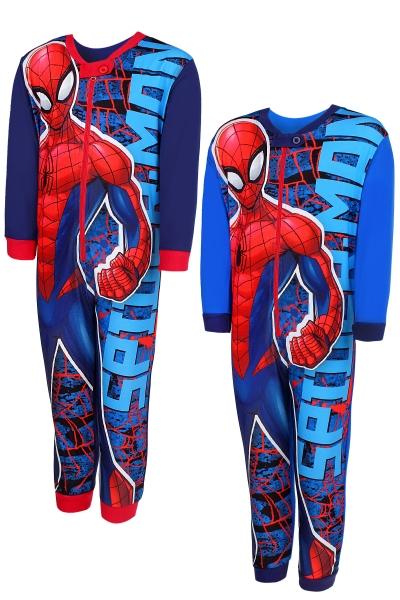Chlapecké pyžamo / overal SPIDERMAN (vel. 98-128cm)