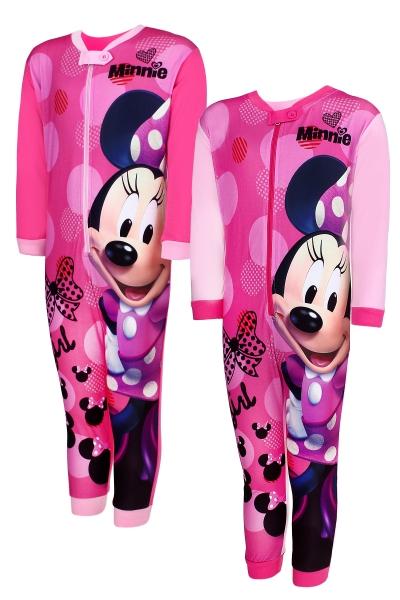 Dívčí pyžamo / overal MINNIE (vel. 98-128cm)