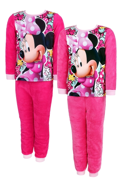 Dívčí teplé pyžamo MINNIE (98-128cm)