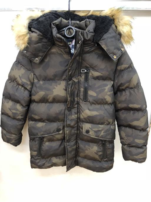 Chlapecká maskáčová zimní bunda SEZON (6-16 let)  e50e2c2f6a