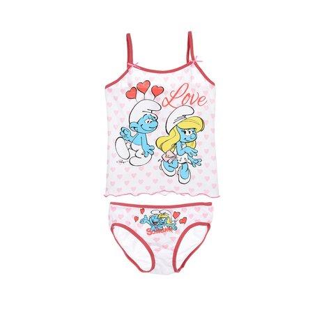 Dívčí tílko + spodní kalhotky ŠMOULINKA (2 3-6 8 let)  5b4eb0db22