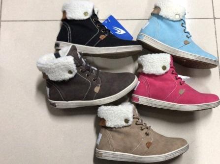 Dámská zimní kotníčková obuv (36-41)