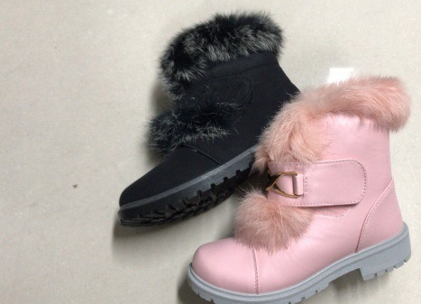 Dívčí zimní kotníčková obuv (31-36)
